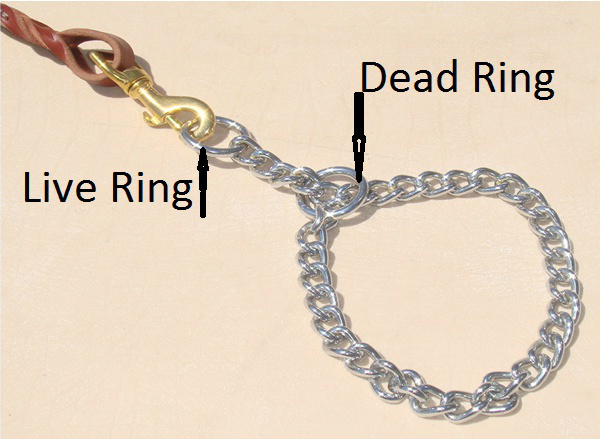 choke chain live and dead rings