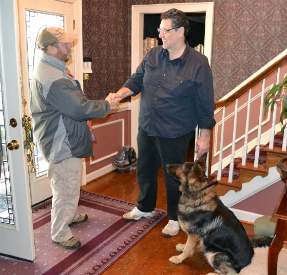 Passive Threats for Personal Protection Dog